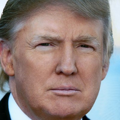 Not Donald Trump  ⚪