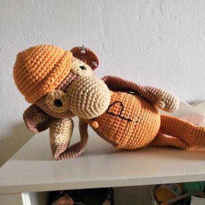 Crocheted Monkey On Twitter Httpstcorhudshbjqq Vid In
