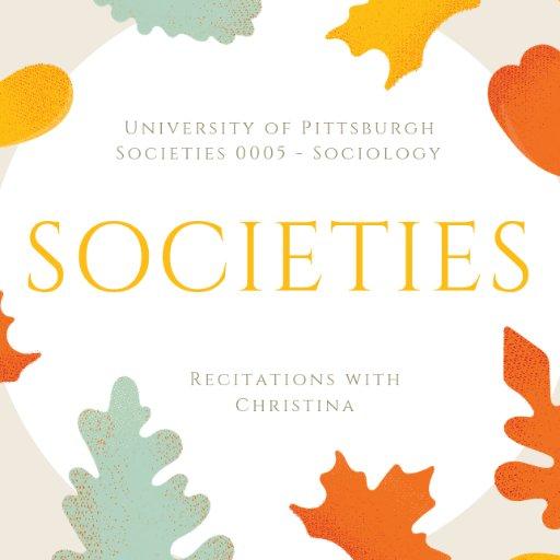 Societies Recitations