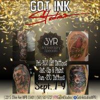 Got Ink Studios Tats