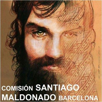 Resultat d'imatges de comision santiago maldonado barcelona