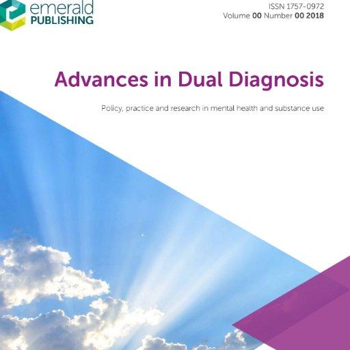 Adv Dual Diagnosis on Twitter: