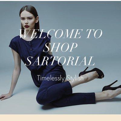 Shop Sartorial on Twitter: