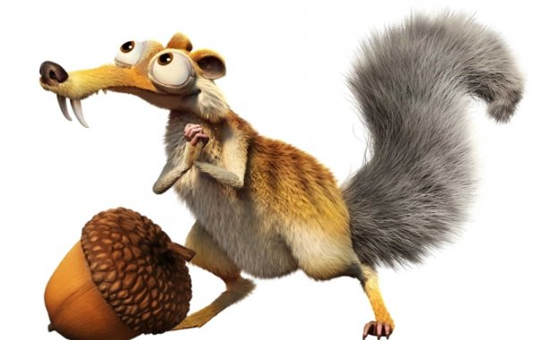 Image result for ice age scrat