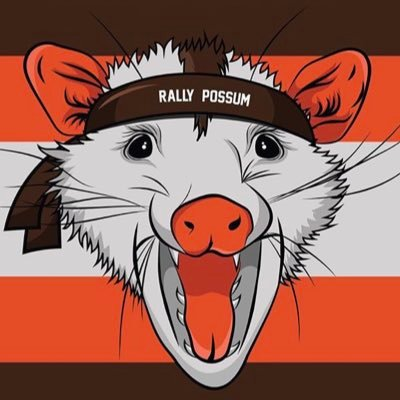 Browns Rally Possum Brownsrally Twitter