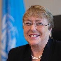 Michelle Bachelet (@mbachelet )