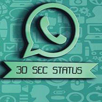 Whatsapp Status At 30secstatus Twitter