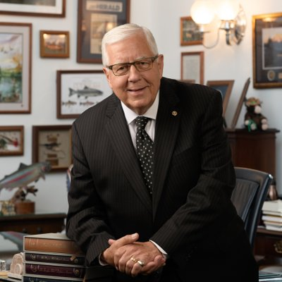 Mike Enzi (@SenatorEnzi) Twitter profile photo