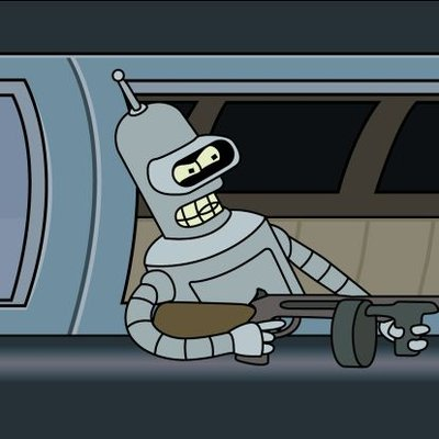 Bender On Twitter Bite My Shiny Metal Ass Futurama Bender New
