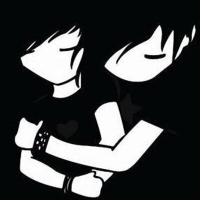 Emo Wallpapers On Twitter Emo Blog Cute Emo Couple Http T Co