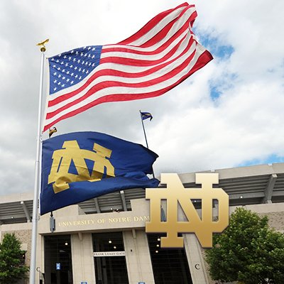 The official account of the Notre Dame Alumni Association. Stop by our office here in the Eck Visitors Center on campus, or tweet your question to us. Go Irish!