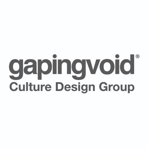gapingvoid culture design group's profile