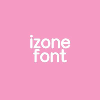 izone font (@izone_font) | Twitter