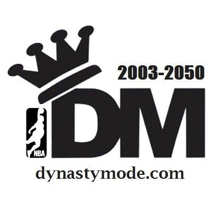 Dynasty Mode 王朝模式 🏀