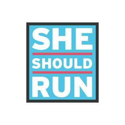 She Should Run (@SheShouldRun) Twitter profile photo