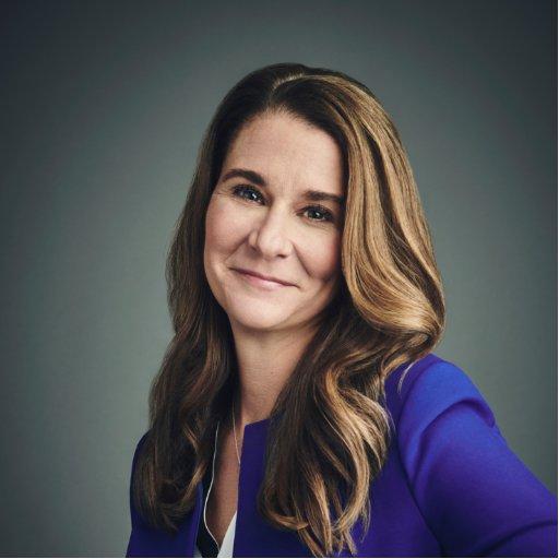 Melinda Gates (@melindagates )