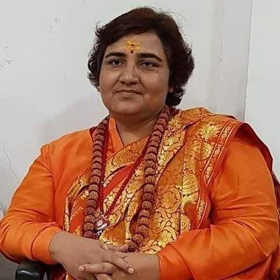 Sadhvi Pragya Thakur (@PragyaSadhvi) Twitter profile photo