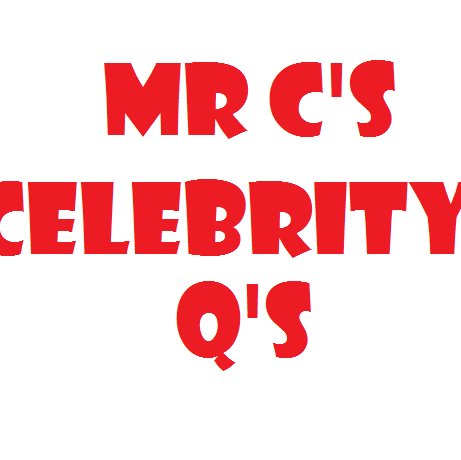 Mr Cresswell's Celebrity Questions