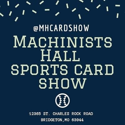 Machinists Hall Show At Mhcardshow Twitter