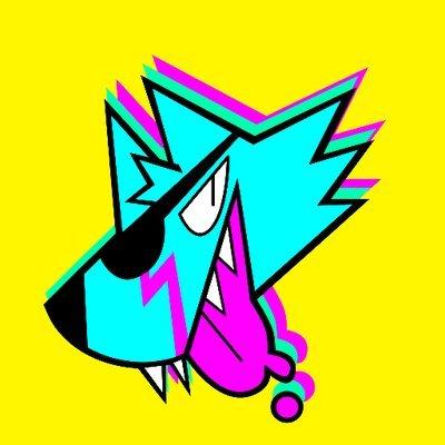 Eyepatch Wolf