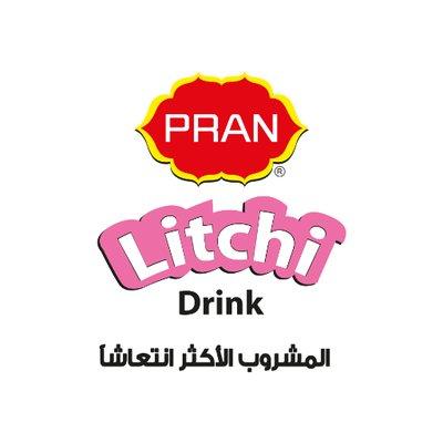 PRAN Litchi Drink Ar on Twitter: