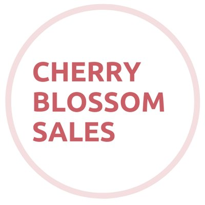 CHERRY BLOSSOM SALES on Twitter: