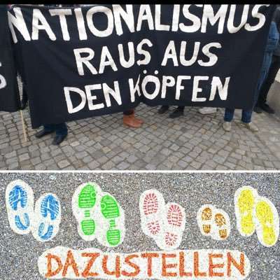 Nationalismus raus aus den Köpfen on Twitter