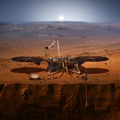 NASA InSight (@NASAInSight) Twitter profile photo