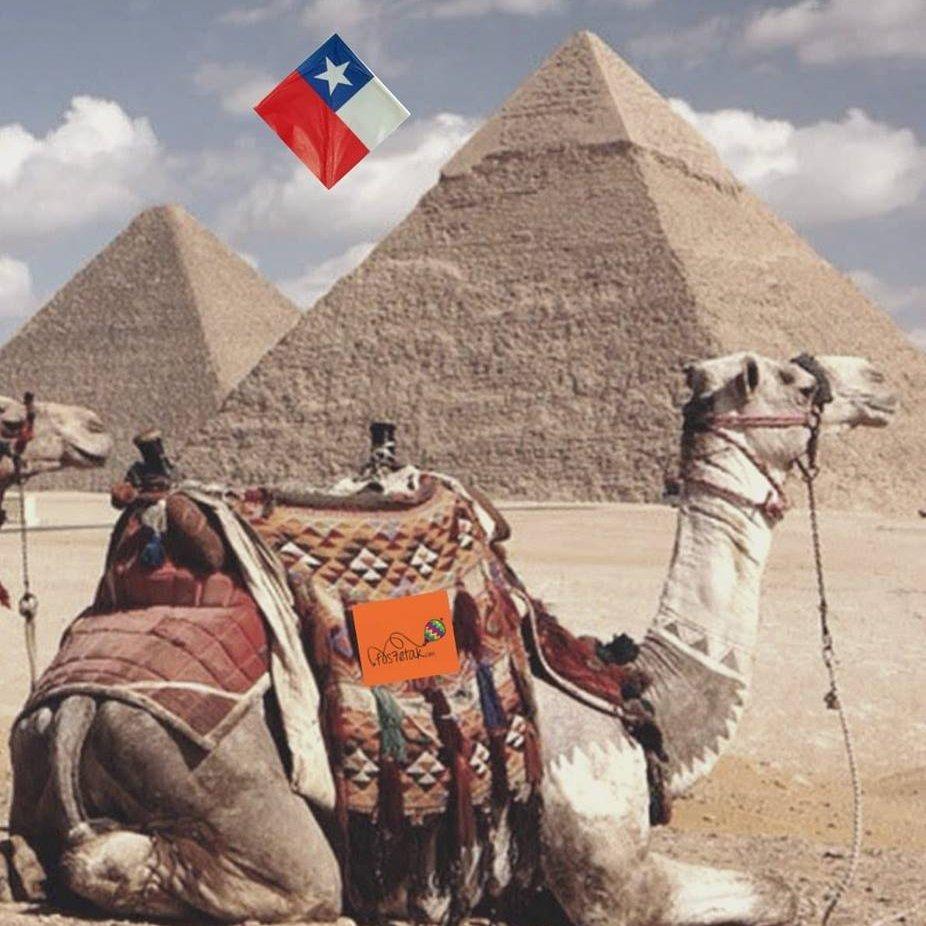 Chilenos a Egipto