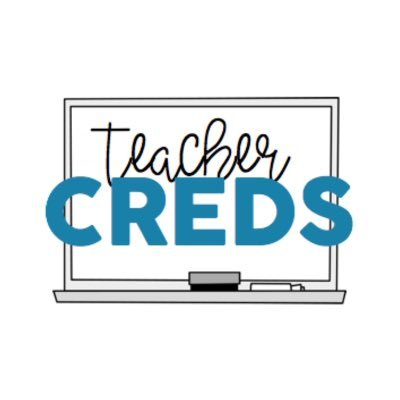 Teacher Creds (@teachercreds) Twitter profile photo