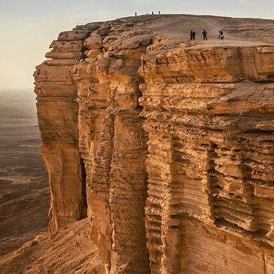 6 معلومات لا تعرفها عن جبل طويق الذى استشهد به ولى العهد السعودى
