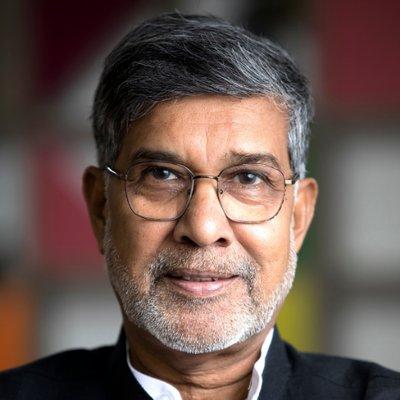 Kailash Satyarthi (@k_satyarthi) Twitter profile photo