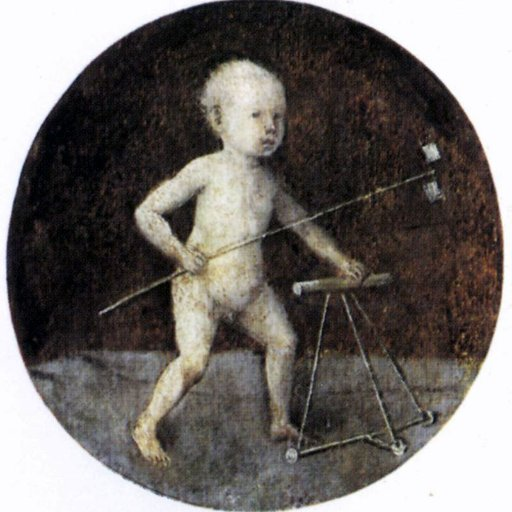 Картинки по запросу hieronymus bosch christ child with a walking frame