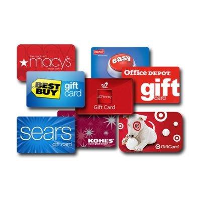 Gift Card Sweeps