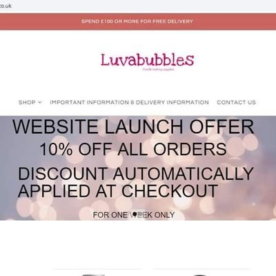 Luvabubbles candle making supplies (@KymLouise2) | Twitter