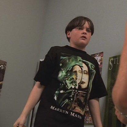 AJ Soprano's nu-metal shirts