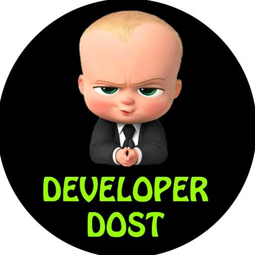Developer Dost (@developerdost) | Twitter