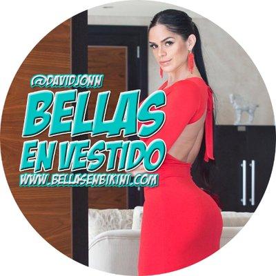 Bellas En Vestido On Twitter La Colombiana Eliana Pinillos En