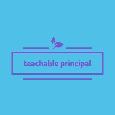 teachableprincipal (@teachablelead) Twitter profile photo