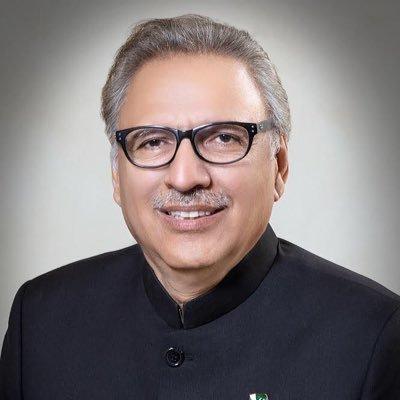 Dr. Arif Alvi on Twitter