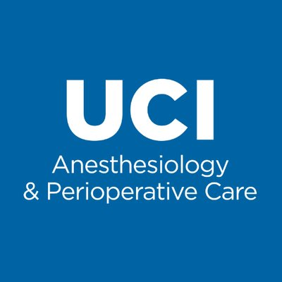 UCI Anesthesiology & Perioperative Care (@ucianesthesia
