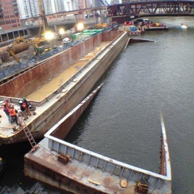 Chicago River Barge