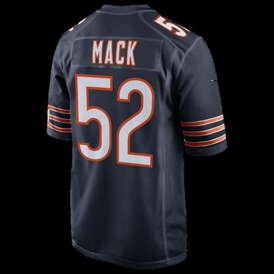 huge selection of c9359 70949 Khalil Mack Bears Home Jersey (@MackJersey) | Twitter