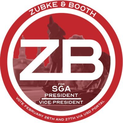 Zubke and Booth for SGA on Twitter: