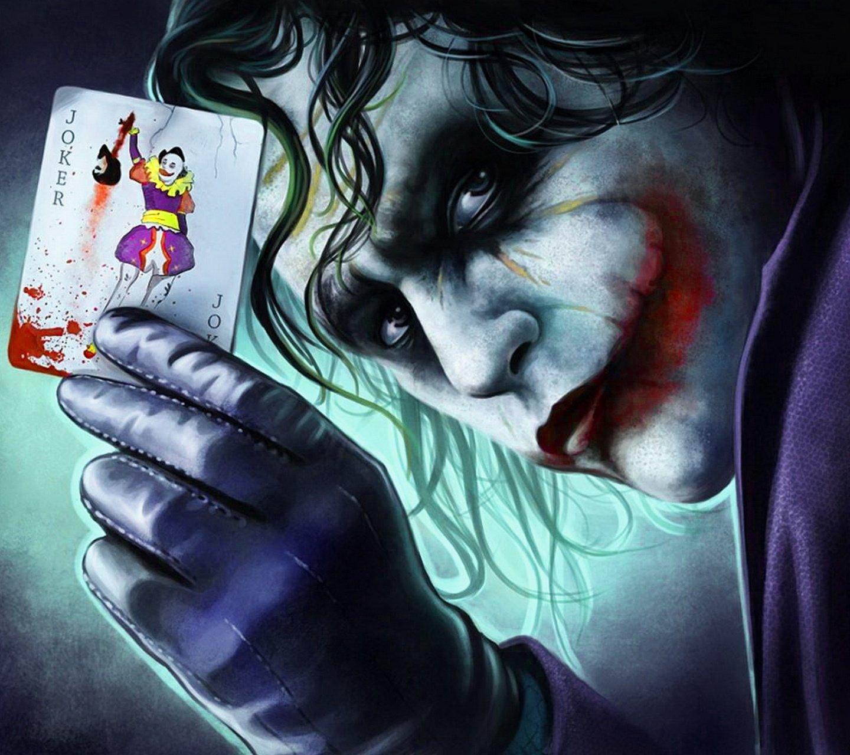 картинки с джокером с картой в руке на аву