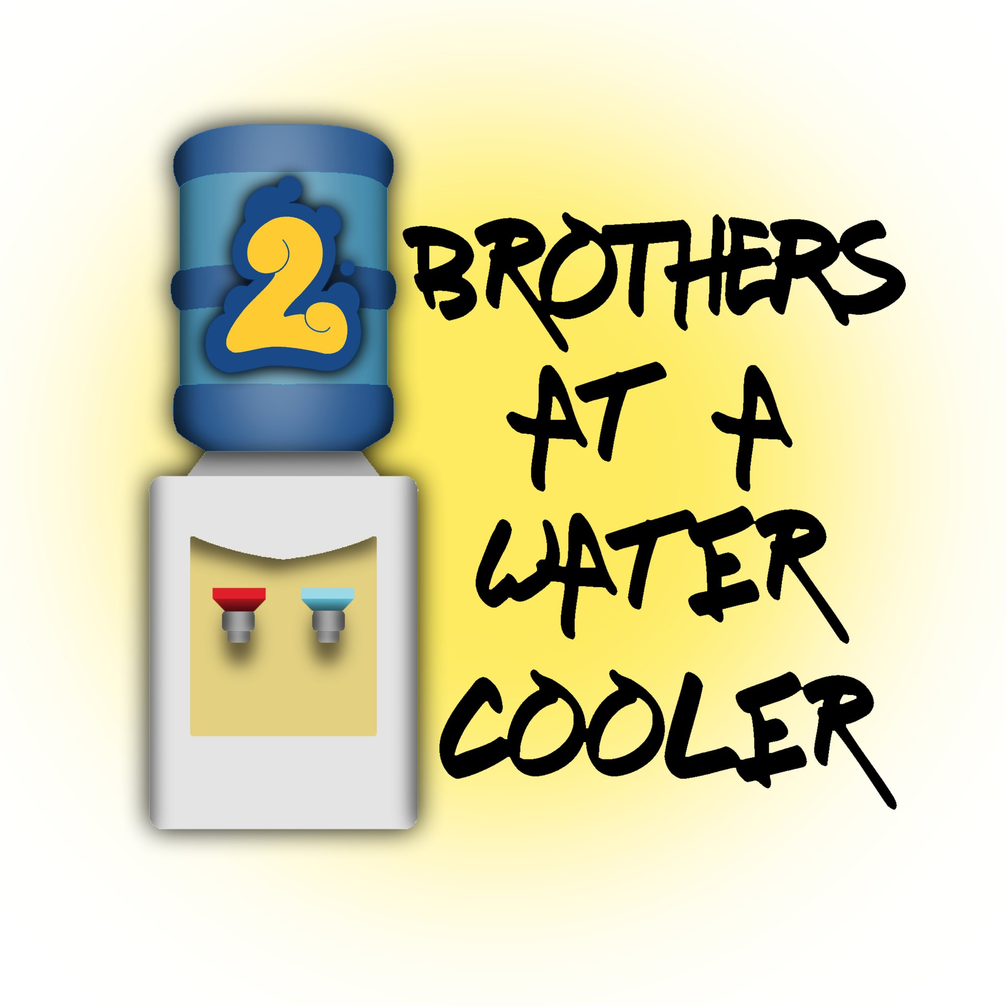 2 Brothers At A Water Cooler