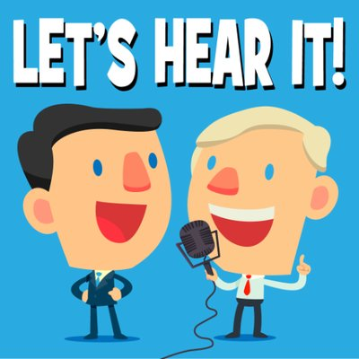 Let's Hear It! (@letshearitcast) Twitter profile photo