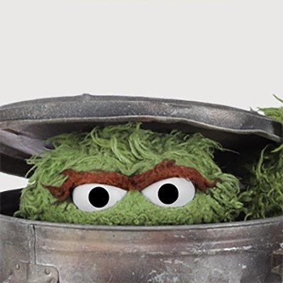Oscar The Grouch On Twitter Trash