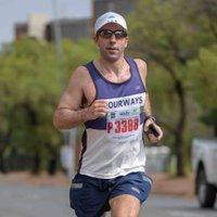 The Running Mann (Marathons & Mischief)