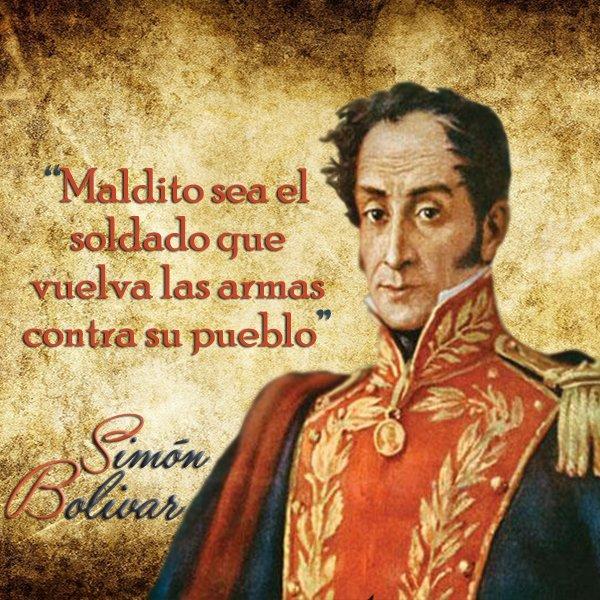Espiritu de Simon Bolivar